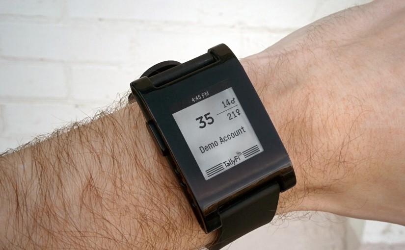 TallyFi on your Wrist
